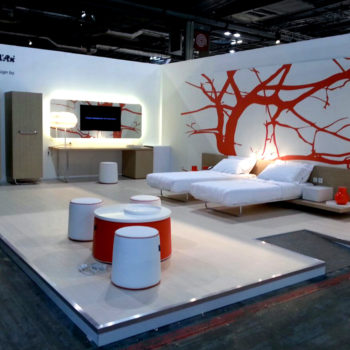 Styling stand per fiera contract - Chateau d'Ax
